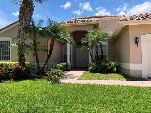 489 NW Blue Lake Drive, Port Saint Lucie, FL 34986 (MLS #RX-10570580) :: The Nolan Group of RE/MAX Associated Realty