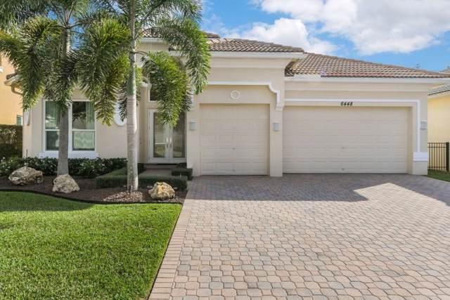 6448 Garden Court, West Palm Beach, FL 33411 (MLS #RX-10570887) :: The Jack Coden Group