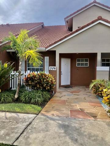 326 SE 23rd Avenue #4, Boynton Beach, FL 33435 (#RX-10571015) :: Ryan Jennings Group