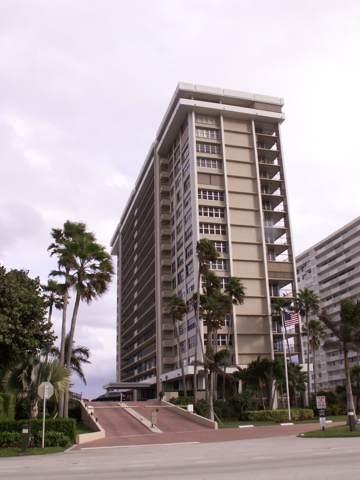 1180 S Ocean Boulevard 7-E, Boca Raton, FL 33432 (#RX-10571024) :: Ryan Jennings Group