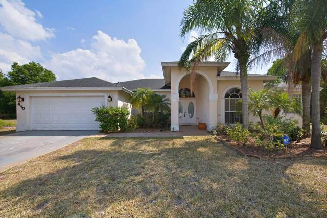 470 SW Mccomb Avenue, Port Saint Lucie, FL 34953 (MLS #RX-10571067) :: The Nolan Group of RE/MAX Associated Realty