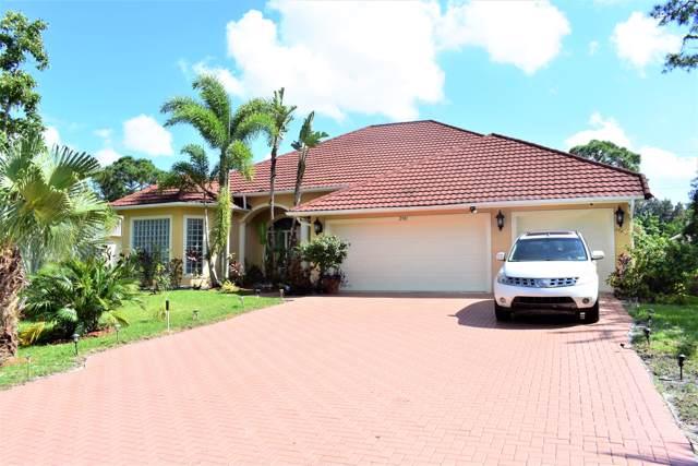 2901 SW Fluvia Street, Port Saint Lucie, FL 34953 (MLS #RX-10571561) :: Berkshire Hathaway HomeServices EWM Realty