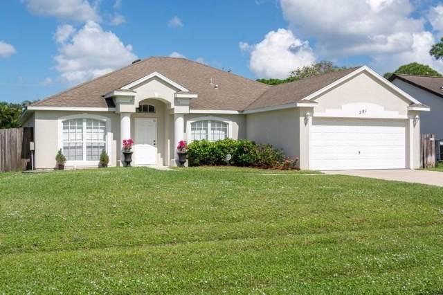 281 NE Granduer Avenue, Port Saint Lucie, FL 34983 (MLS #RX-10571759) :: Berkshire Hathaway HomeServices EWM Realty