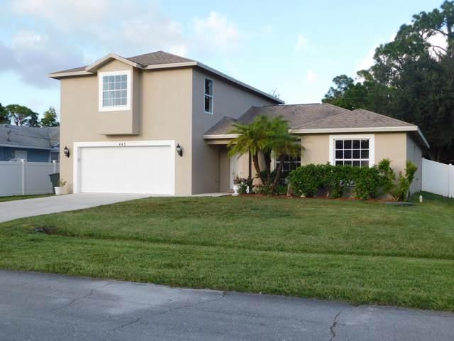 445 NW Reading Lane, Port Saint Lucie, FL 34983 (MLS #RX-10571909) :: Berkshire Hathaway HomeServices EWM Realty