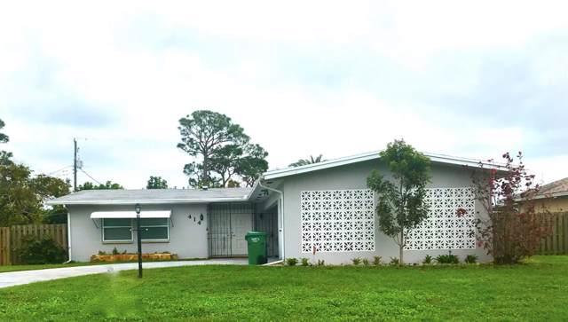 414 SE Gasparilla Avenue, Port Saint Lucie, FL 34952 (MLS #RX-10572026) :: Berkshire Hathaway HomeServices EWM Realty