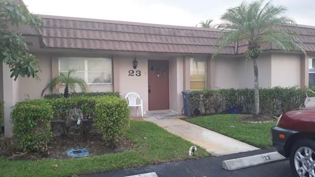 5725 Fernley Drive E #23, West Palm Beach, FL 33415 (#RX-10572095) :: Ryan Jennings Group