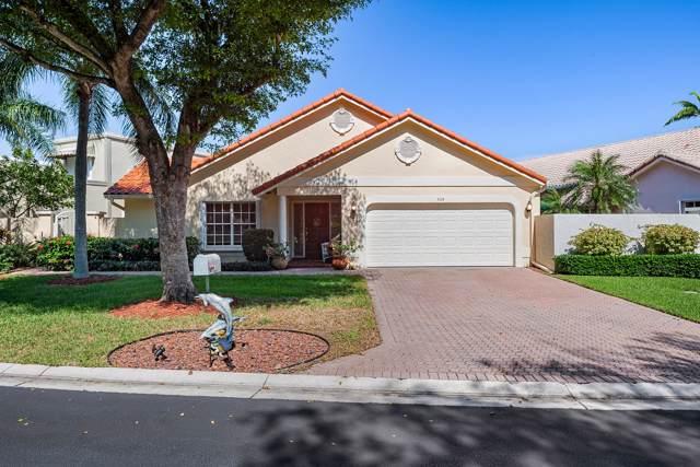 309 Pelican Way, Delray Beach, FL 33483 (MLS #RX-10572425) :: Berkshire Hathaway HomeServices EWM Realty