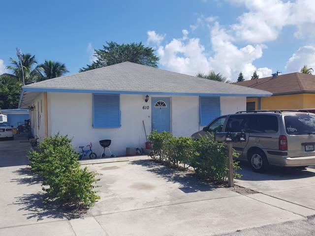 610 N Broadway A, Lantana, FL 33462 (MLS #RX-10572524) :: The Jack Coden Group