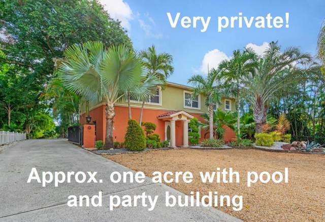 6640 High Ridge Road, Lake Worth, FL 33462 (MLS #RX-10572664) :: Berkshire Hathaway HomeServices EWM Realty