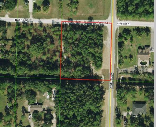 0 43rd Road N, Loxahatchee, FL 33470 (#RX-10573266) :: Harold Simon | Keller Williams Realty Services