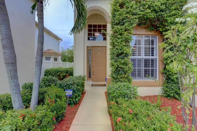 7586 Colony Palm Drive, Boynton Beach, FL 33436 (MLS #RX-10573329) :: Berkshire Hathaway HomeServices EWM Realty