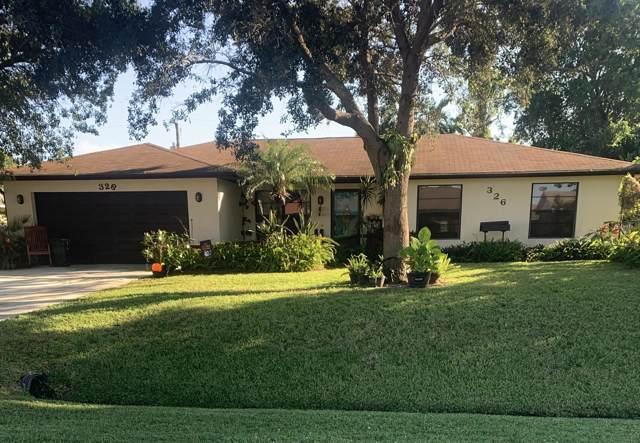 326 NE Glentry Avenue, Port Saint Lucie, FL 34983 (MLS #RX-10573359) :: Berkshire Hathaway HomeServices EWM Realty