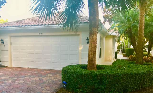 651 Hudson Bay Drive, Palm Beach Gardens, FL 33410 (#RX-10573396) :: Ryan Jennings Group