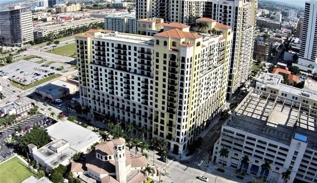 801 S Olive Avenue #709, West Palm Beach, FL 33401 (#RX-10573535) :: Ryan Jennings Group