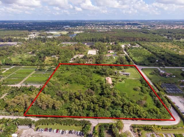 6784 Park Lane W, Lake Worth, FL 33449 (MLS #RX-10573586) :: Berkshire Hathaway HomeServices EWM Realty