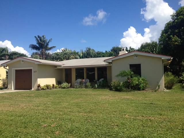 613 Allen Avenue, Delray Beach, FL 33483 (MLS #RX-10573719) :: Berkshire Hathaway HomeServices EWM Realty