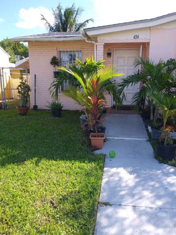 424 El Vedado, West Palm Beach, FL 33405 (MLS #RX-10573830) :: Berkshire Hathaway HomeServices EWM Realty