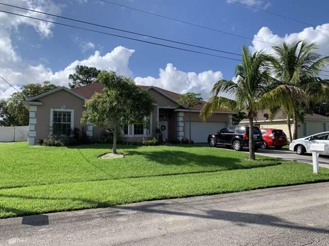 1258 SW Ermine Avenue, Port Saint Lucie, FL 34953 (MLS #RX-10574002) :: Berkshire Hathaway HomeServices EWM Realty