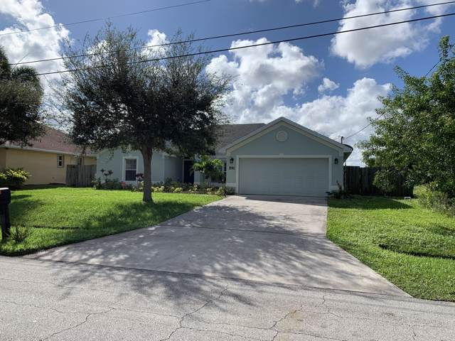 591 SW Bradshaw Circle, Port Saint Lucie, FL 34953 (MLS #RX-10574008) :: Berkshire Hathaway HomeServices EWM Realty