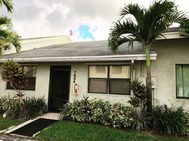 7654 NW 38th Court #7654, Sunrise, FL 33351 (MLS #RX-10574156) :: Castelli Real Estate Services