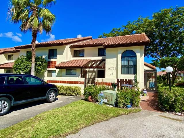10772 Bahama Palm Way #102, Boynton Beach, FL 33437 (MLS #RX-10574221) :: Berkshire Hathaway HomeServices EWM Realty