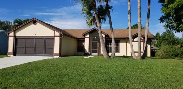 1926 SW Beauregard Street, Port Saint Lucie, FL 34953 (MLS #RX-10574380) :: Berkshire Hathaway HomeServices EWM Realty