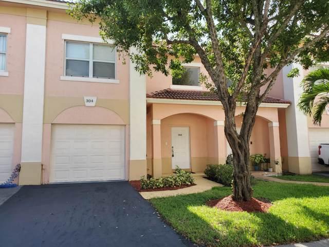 304 Talia Circle, Palm Springs, FL 33461 (MLS #RX-10574663) :: Berkshire Hathaway HomeServices EWM Realty