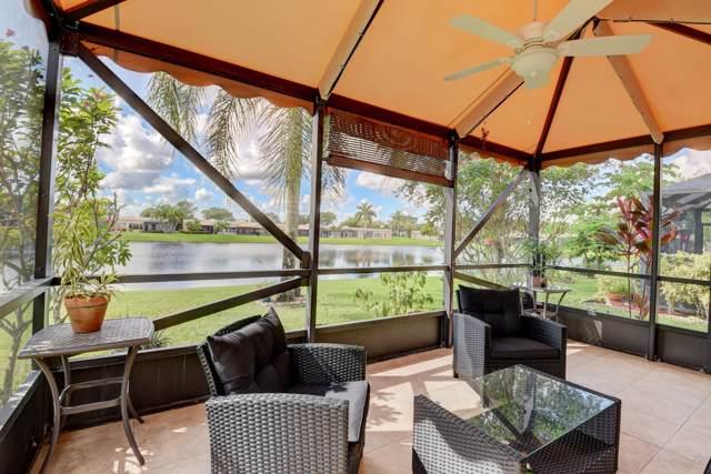 9094 Flynn Circle #1, Boca Raton, FL 33496 (MLS #RX-10574893) :: Berkshire Hathaway HomeServices EWM Realty
