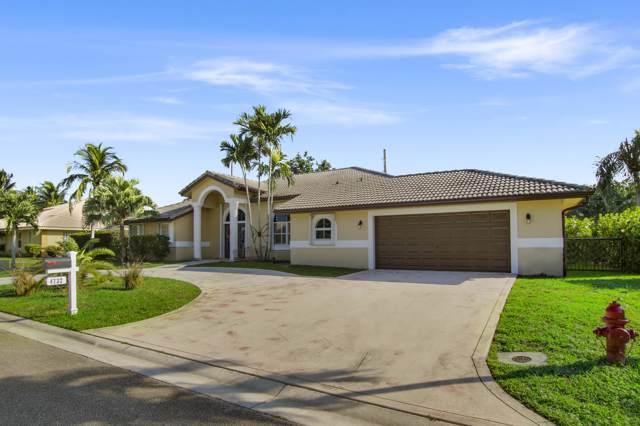 4732 Cypress Drive S, Boynton Beach, FL 33436 (MLS #RX-10575013) :: Berkshire Hathaway HomeServices EWM Realty