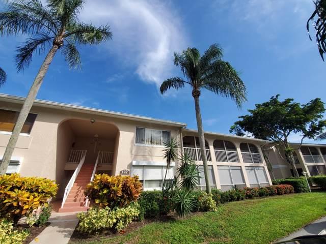 13831 Oneida Drive B2, Delray Beach, FL 33446 (MLS #RX-10575031) :: Berkshire Hathaway HomeServices EWM Realty