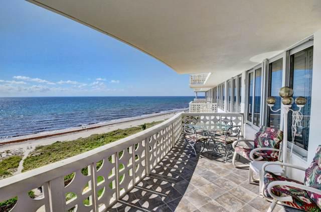 1225 S Ocean Boulevard #802, Delray Beach, FL 33483 (#RX-10575573) :: Ryan Jennings Group