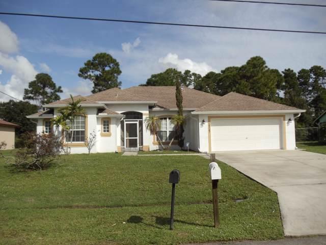 1717 SW Penrose Avenue, Port Saint Lucie, FL 34953 (MLS #RX-10575850) :: Laurie Finkelstein Reader Team