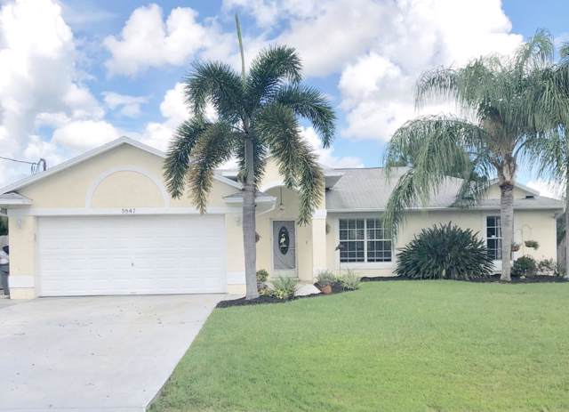 5847 NW Begonia Avenue, Port Saint Lucie, FL 34986 (MLS #RX-10576156) :: Laurie Finkelstein Reader Team