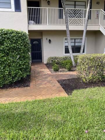 40 Stratford Lane 40E, Boynton Beach, FL 33436 (#RX-10576245) :: Ryan Jennings Group
