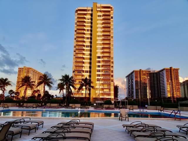 1985 S Ocean Dr 15C, Hallandale, FL 33009 (MLS #RX-10576266) :: Berkshire Hathaway HomeServices EWM Realty