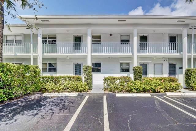 2300 SW 22nd Avenue #109, Delray Beach, FL 33445 (MLS #RX-10576319) :: Berkshire Hathaway HomeServices EWM Realty