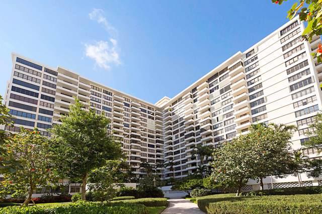 600 Three Islands Boulevard #808, Hallandale, FL 33009 (MLS #RX-10576429) :: Berkshire Hathaway HomeServices EWM Realty