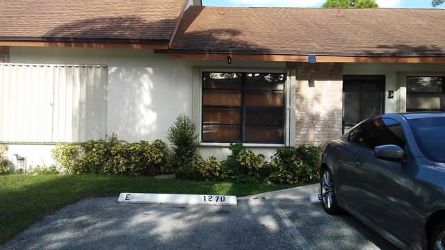 1270 E Parkside Green Drive W E, Greenacres, FL 33415 (#RX-10576621) :: Weichert, Realtors® - True Quality Service