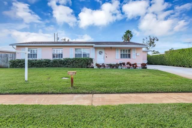 1409 Lake Bass Drive, Lake Worth, FL 33461 (MLS #RX-10576634) :: The Jack Coden Group