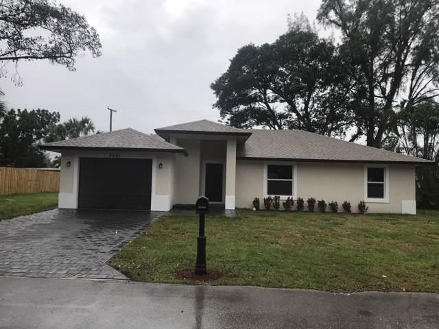 3691 Riedel Avenue, Palm Springs, FL 33461 (MLS #RX-10576919) :: Berkshire Hathaway HomeServices EWM Realty