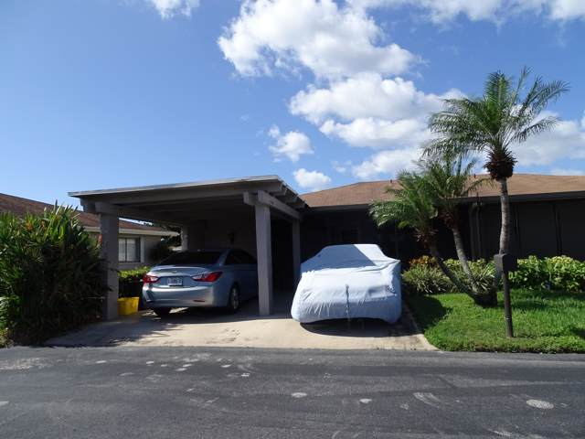 6686 Moonlit Drive A, Delray Beach, FL 33446 (#RX-10577028) :: Ryan Jennings Group