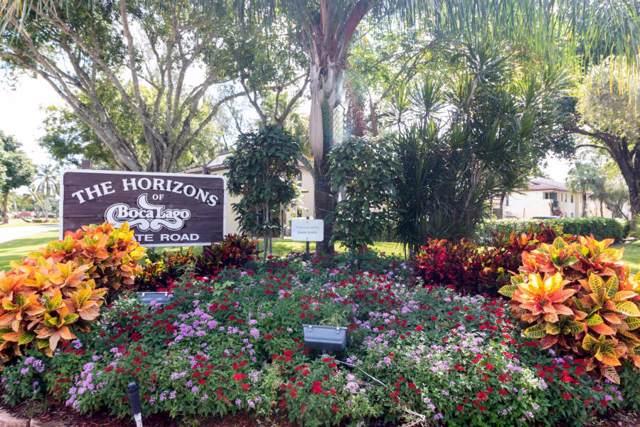 21699 Cypress Road 17E, Boca Raton, FL 33433 (#RX-10577341) :: Ryan Jennings Group