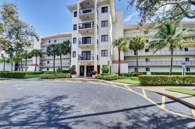 2105 Lavers Circle Circle #402, Delray Beach, FL 33444 (MLS #RX-10577518) :: Berkshire Hathaway HomeServices EWM Realty