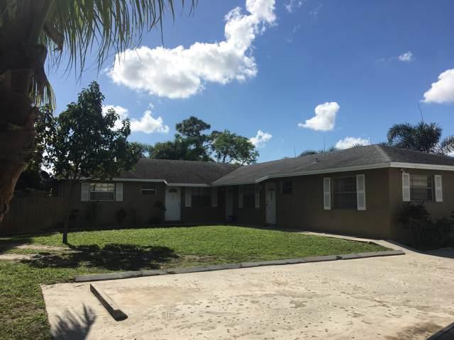 4412 Barbridge Road, Palm Springs, FL 33406 (MLS #RX-10577637) :: Miami Villa Group