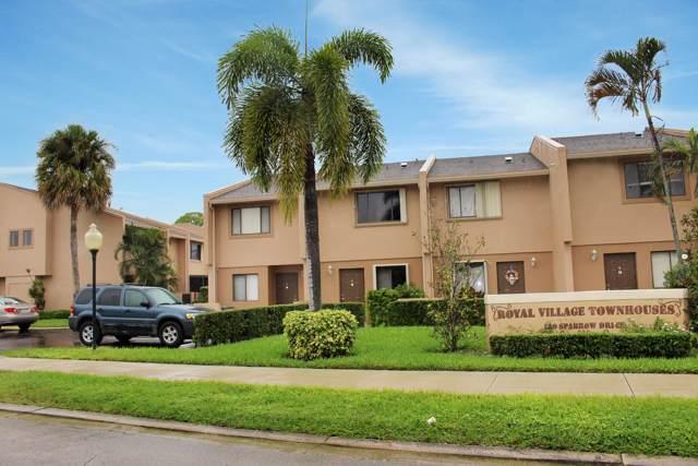 139 Sparrow Drive 1B, Royal Palm Beach, FL 33411 (MLS #RX-10577672) :: United Realty Group