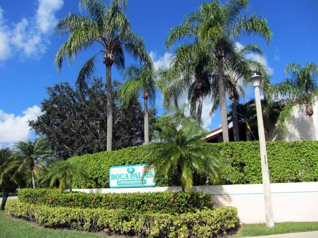 22088 Palms Way #206, Boca Raton, FL 33433 (MLS #RX-10577742) :: Berkshire Hathaway HomeServices EWM Realty