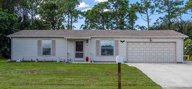 181 SE Fallon Drive, Port Saint Lucie, FL 34983 (MLS #RX-10577761) :: Berkshire Hathaway HomeServices EWM Realty