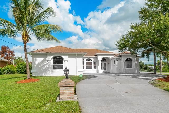 981 SE Bayfront Avenue, Port Saint Lucie, FL 34983 (MLS #RX-10577871) :: Berkshire Hathaway HomeServices EWM Realty