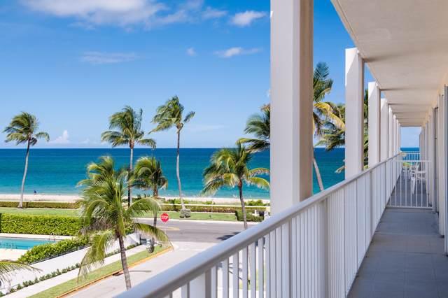 350 S Ocean Boulevard #306, Palm Beach, FL 33480 (#RX-10578059) :: Ryan Jennings Group