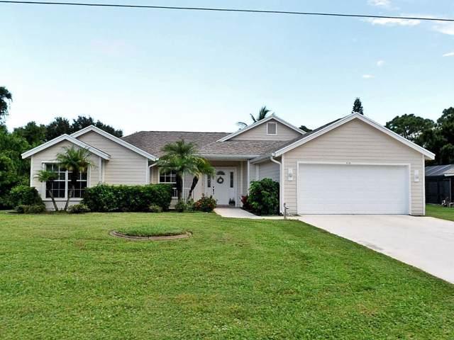 508 SE Cliff Road SE, Port Saint Lucie, FL 34953 (#RX-10578074) :: Real Estate Authority